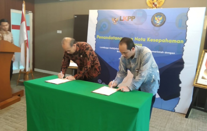 BSSN Proteksi Keamanan Transaksi Elektronik di LKPP