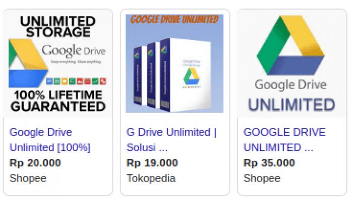 Bahaya di Balik Tawaran Google Drive Unlimited Murah di Pasar Daring, Jangan Tergiur!