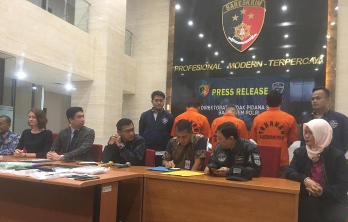 Polri Tangkap Tiga Hacker JS Sniffers Asal Indonesia