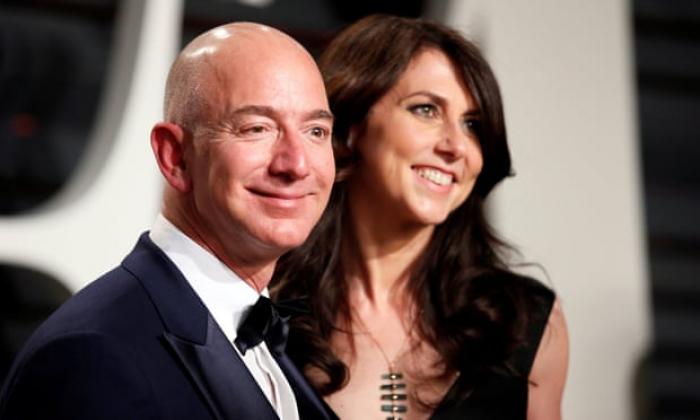 Ponsel Bos Amazon Jeff Bezos Diretas Arab Saudi