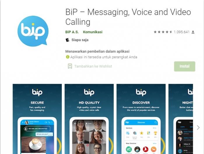 BiP, Aplikasi Pesan Daring Asal Tuki Alami Lonjakan Pengguna di Negara Muslim