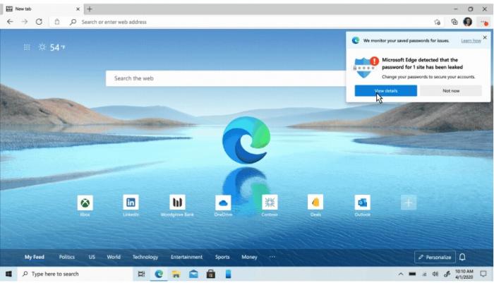 Microsoft Edge Terbaru Sediakan Fitur Mode Anak dan Password Monitor