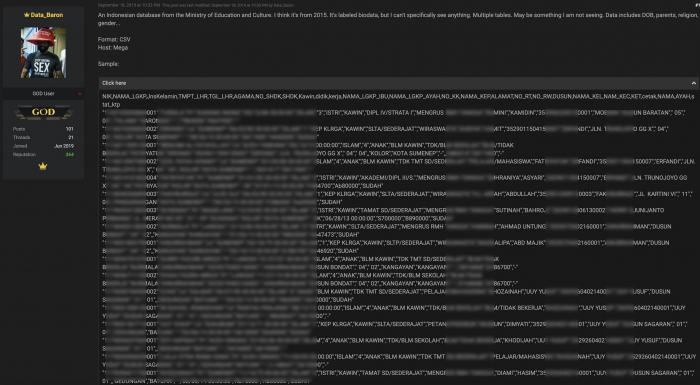 Ada Nama Ibu dan Ayah Kandung, Data 1,3 Juta PNS Kemdikbud Dibobol Hacker?