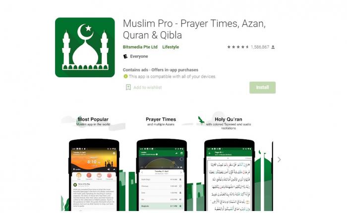 Muslim Pro Jelaskan Status X-Mode, Mitra Data yang Diduga Jual Data Lokasi Penggunanya ke Militer AS
