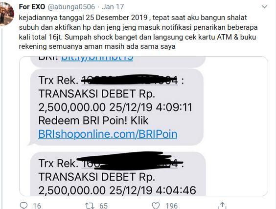 News Gawat Uang Nasabah Hilang Rp16 Juta Respon Bri