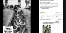 Diklaim Foto Kuburan Massal dan Santri Korban PKI 1948, Facebook Tandai Postingan Viral Ini Sebagai Informasi yang Salah