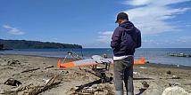 Jalur Listrik PLN di Maluku Disurvei Fotogrametri dengan Drone